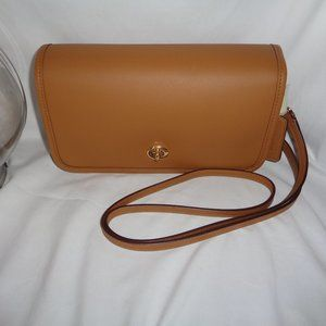 Coach F87768 Smooth Leather Penny Crossbody Handba